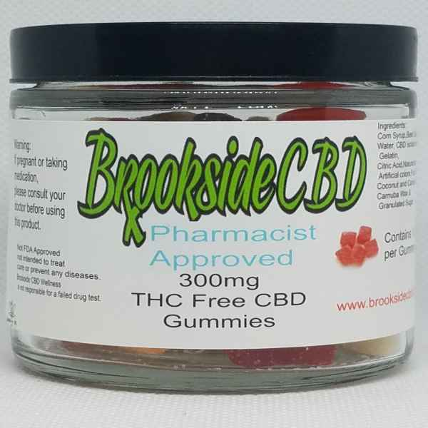 Brookside THC Free Gummies 30 Count